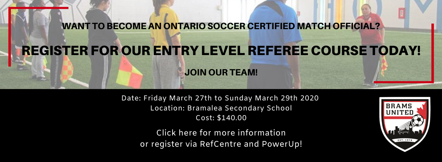2020 Entry Level Ref Course